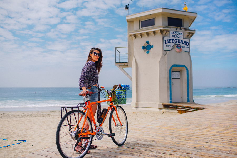 laguna main beach bike